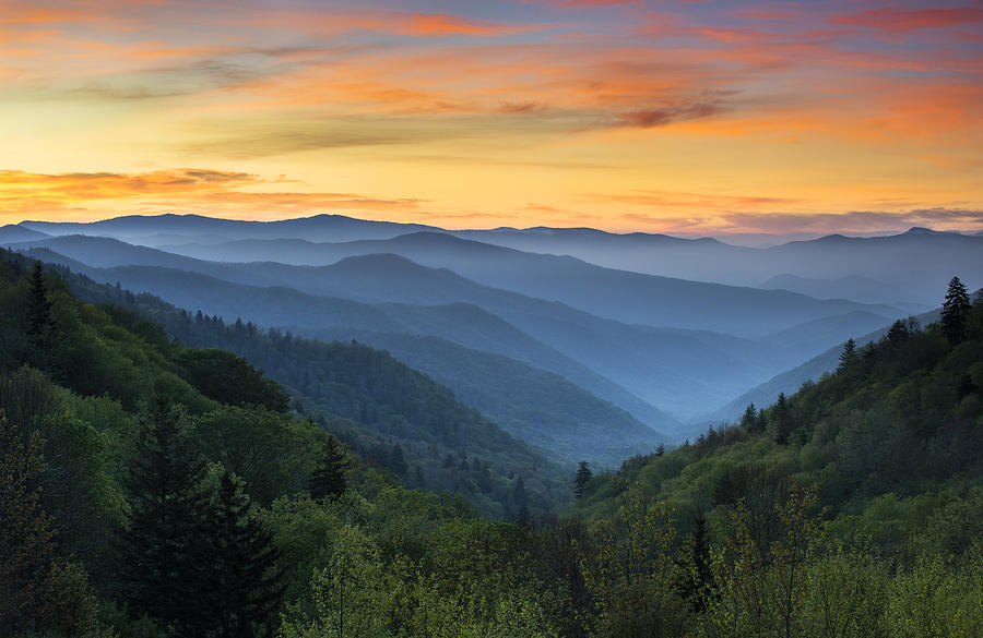 smoky-mountains-sunrise--great-smoky-mountains-national-park-dave-allen