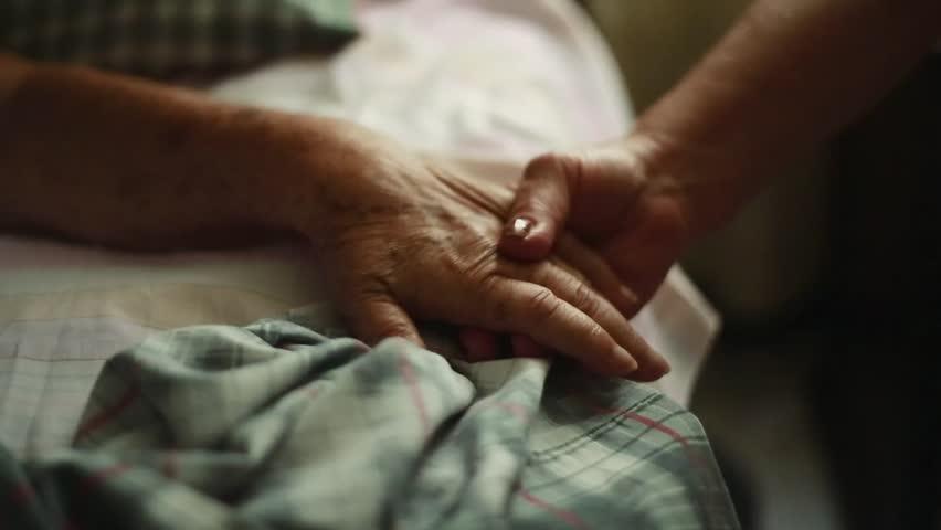 deathbed hands