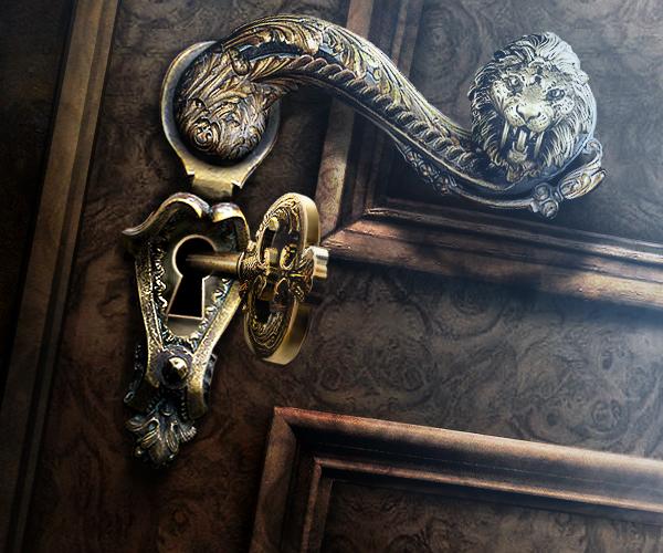 fancy door lock