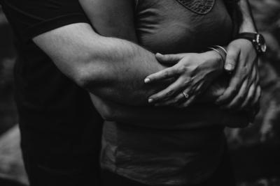 hug from behind