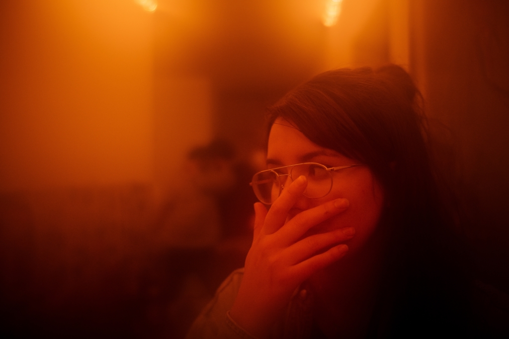 woman social anxiety