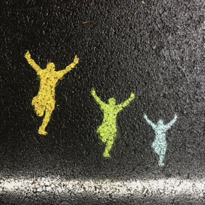 three silhouettes success